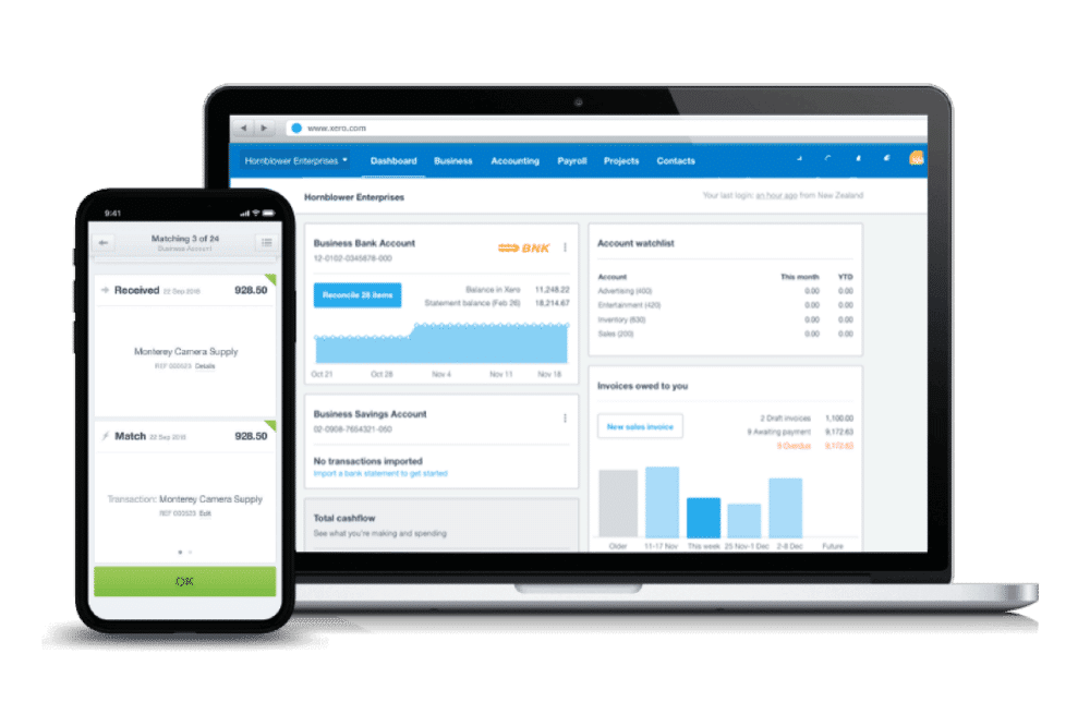 Xero software for MTD For VAT for small businesses