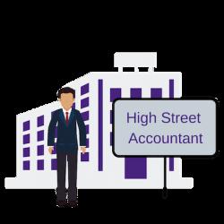 High Street accountant
